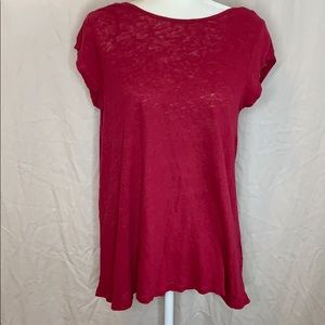 Free People Slouch Back Tee